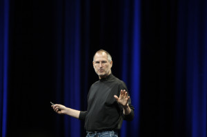 Steve Jobs by acaben: http://www.flickr.com/photos/acaben/541420967/sizes/l/in/photostream/