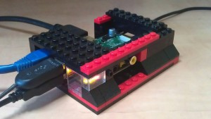 Raspberry Pi in Lego case