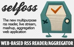 Selfoss web based RSS reader logo