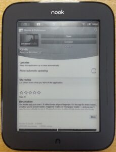 Nook with Play Store