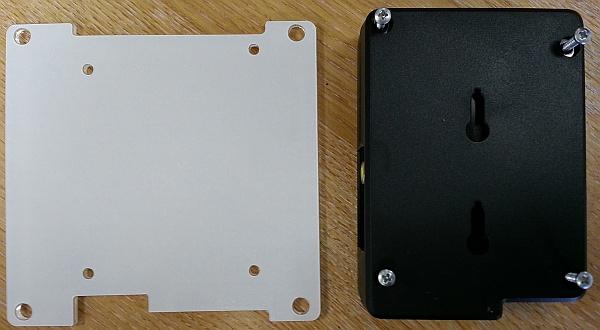 Pi case and VESA mount