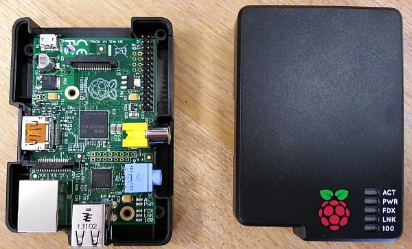 Pi case installation