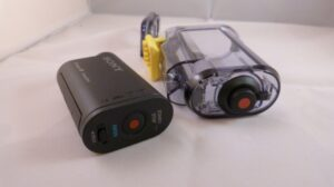 Sony HDRAS15 On of button