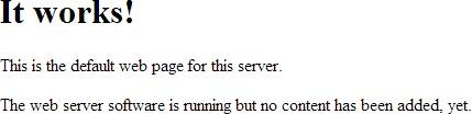 Raspberry web server
