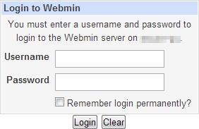 Webmin-Pi