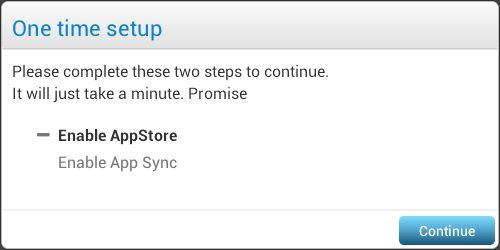BlueStacks setup step 01