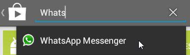 Install WhatsApp step 02