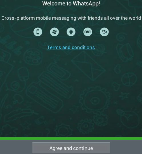 Install WhatsApp step 07