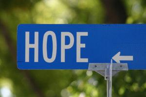 Hope (street sign)